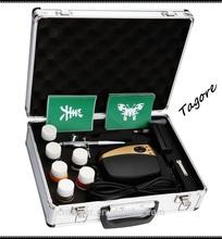 Tagore TG216K-23 temporary tattoo air compressor hot temporary airbrush tattoos kits tattoo airbrush machine kit