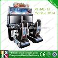 32' alta definição led outrun 2014 arcade de corrida de moto jogo da máquina