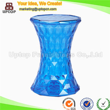 Fashional outdoor crystal bar round plastic stool (SP-AC131)