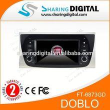 car dvd player GPS USB RADIO BT RDS fast delivery For FIAT DOBLO car gps dvd player navigation