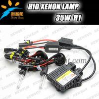 2014 Newest Design 35W 9-16V All color temperature H1 hid lamp Slim hid ballast