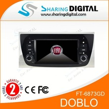 Fast delivery in dash car dvd gps For FIAT DOBLO Car dvd with GPS