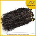 preço barato cor natural aplicar extensões de cabelo 5a trama do cabelo