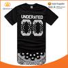 Fashion OEM Service Hip Hop Men& Women Print Your Logo Custom Tee Shirt
