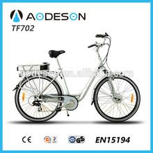 Cheap powered motor bike 250w TF702 8fun motor,electric bike hub motor,china produced electric bicycle low cost