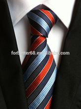 100% Silk Necktie,Business Necktie ,Multi-color Stripe Necktie