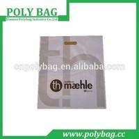 Ldpe Soft Handle Poly Plastic Die Cut bag