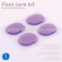 Viola cura dei piedi pu pad protezione del piede cura dei piedi kit( syt003- 1)