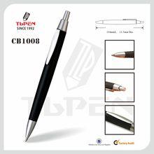 promotional plastic push action ballpoint pen CB1008