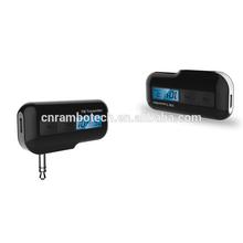 Portable mini bluetooth radio fm transmitter for mercedes-benz