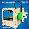 2014 3d model printer popular Dual-nozzle ABS PLA PVA HIPS appliable FDM technology