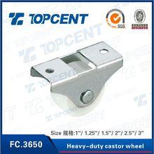 China 1 inch trundle heavy duty castor wheel