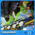 China Air bike amusement rides, Kids rides amusement machines! electric mini track train
