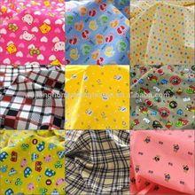 Animal &flower Printed Corduroy children's clothes fabric(WJ-HZ270)