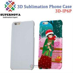 3D Sublimation Case for iPhone 6 Plus