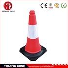 Colorfast PE orange traffic cones