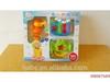 2014 Funny Baby Cartoon Toys Set, Lovely Design Plastic Baby Educational Toys