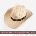 Fabrik großhandel hochwertige Stetson cowboy-hüte mit leder