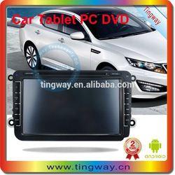 8inch size 2din in dash car dvd player Volkswagen Passat B6 2009-2011