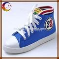 De moda los zapatos de lona alpargata zapatos de suela de goma de todos los colores todos los tamaños fa-19-278