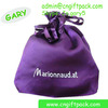 good colorful satin promotional bags with logo