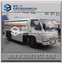 4cbm 5cbm 6cbm 4tons 5tons 6tons small JMC fuel tank truck 4x2 2axles 102hp 116hp
