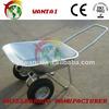Russia market building construction tools hand truck wheelbarrow with brake