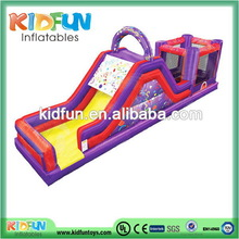 Customized hotsell caterpillar inflatable obstacle course