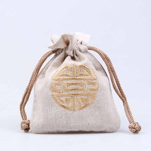 New Design Fashion Natural Jute Bag Pouch