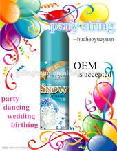 festival string spray 250ml for birthday party Christmas spray wedding spray cheap