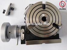 "Rotary Table 100mm/4"" tilting horizonal / vertical 36-1 ratio"