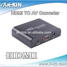 High Quality 1080p HD link HDMI to AV Converter box