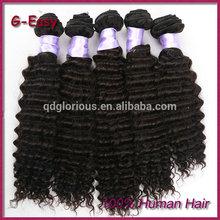 G-Easy full cuticle malaysian curly wavy hair