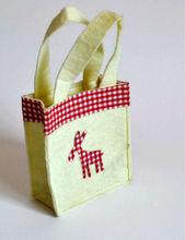 #YJ141016-4 christmas reindeer design christmas gift handbag