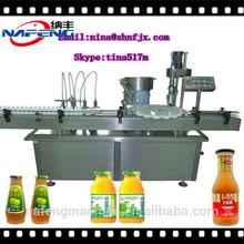 NFGX-30/500 China Custom Tin Can /Tin Case Beverage Liquid Filling Machine Production Line