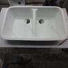 fashion artificial stone kitchen sink, unique solid surface kitchen sinks