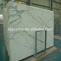 hermoso blanco statuario losas de piedra semipreciosa