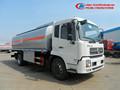 Distribuição de combustível caminhões, combustível tanker truck dimensões/combustível tanque bowser