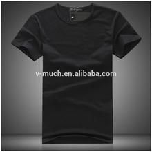 New arrival custom wholesale promotional mens white t-shirt china(OEM)