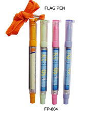 Cheap Price Scrolling Message Pen with Rope and Advertising Logo Printing