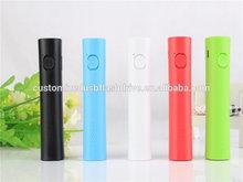 hot sale fashion portable phone charger / universal flashlight power bank / external battery mobile 2600mah
