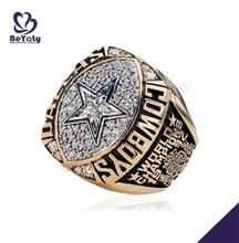 Christmas wholesale star championship men precious stone rings