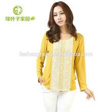 eco friendly elegant maternity blouses office AK149