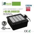 5 years warranty DLC UL approval 120w-400w led shoe box light high mast shoebox retrofit light