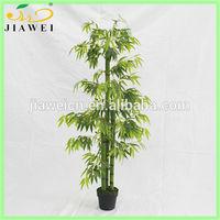 make indoor decorative artificial bamboo tree