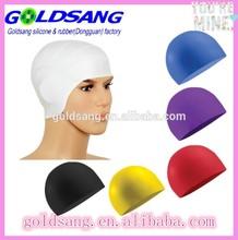 2014 Perfect Soft woman silicone swimming caps