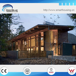 Wooden beautiful prefabricated garden shed house design
