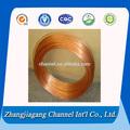 tubo de cobre para el gas del calentador de agua con buena calidad