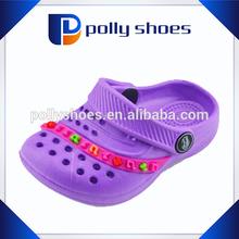 Factory wholesale good quality cute flip flop clog promotional