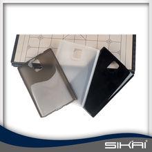 factory price soft TPU case transparent mobile phone case for blackberry passport Q20 Q30